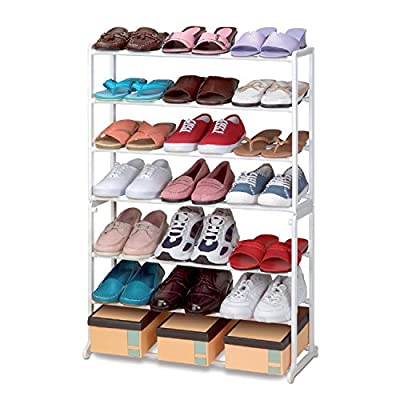 VINSANI SHOE STAND STORAGE RACK ORGANISER SHELVES 7 TIER (21 Pairs Shoe Rack)