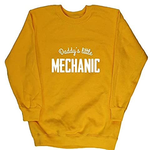 HippoWarehouse - Sweat-shirt - Fille - Jaune - 13 ans