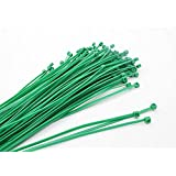 All Trade Direct 100 X Green Cable Ties 300Mm X 4.8Mm Zip Tie Wraps Bases All Sizes Stocked