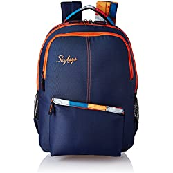 Skybags Footloose Colt 29 Ltrs Blue Casual Backpack (BPFCOL3EBLU)