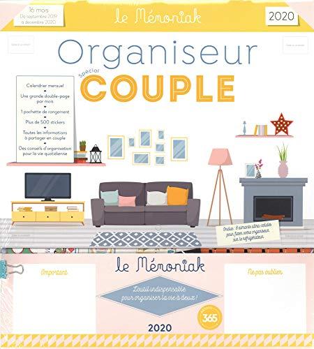 Organiseur mémoniak spécial couple par Editions 365