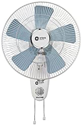 Orient Electric Wind Pro Wall-80 400mm Wall fan (White/Blue Tint)