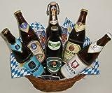 Münchner Bier Geschenkvielfalt 6x0,5 Liter mit Geschenkkorb