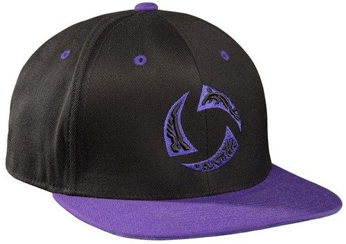 Heroes of the storm - Enter the Nexus Snap back Hat - Black / Purple