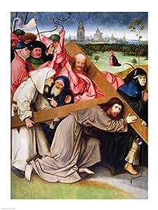 Hieronymus Bosch – Le Christ portant la croix Impression d'art Print (45,72 x 60,96 cm)