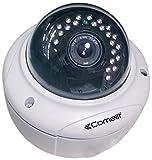 COMELIT ipcam068a IP Caméra Minidome, HD, Objectif varifocale 2.8-12mm, IR 30m, iP66