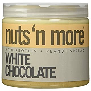 Nuts N More Nuts 'N More White Chocolate Peanut Butter - 16 Oz (2 Pack)