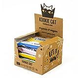 Kookie Cat Mix Box 100% Organic and Gluten Free Cookies 5x50g
