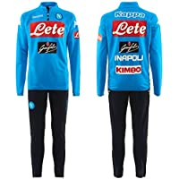 2017-2018 Napoli Sports Training Tracksuit (Navy)