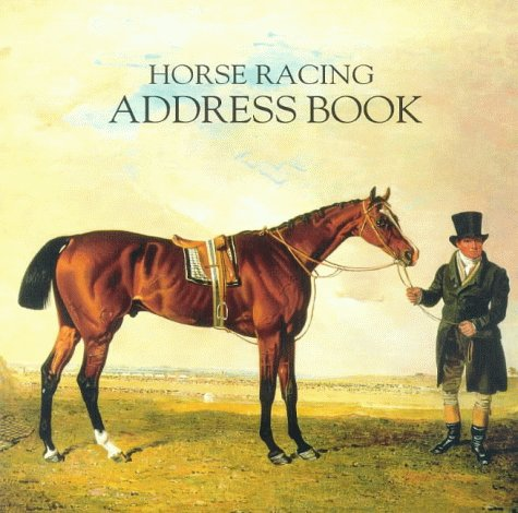 Horse Racing Address Book por Mary Ann Wingfield