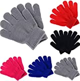 #5: Krystle Boys|Girls Winter Woollen Gloves Pack of 6