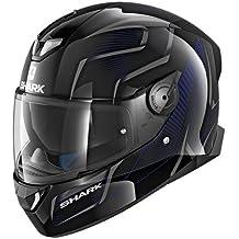 SHARK SKWAL 2Flynn cascos de motocicleta, color negro/azul, talla XS