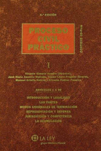 Tomo I (Artículos 1 a 98) Proceso civil práctico por Vicente Gimeno Sendra
