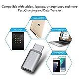 USB C Adapter auf Micro USB [ 4 Stücke ] Snowkids USB Type C Konverter 56K Widerstand für Samsung...