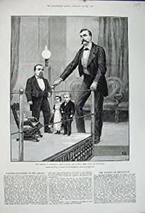 Art Général d'Acarides de Piccadilly Lucia Zarate de 1880 Pigmies