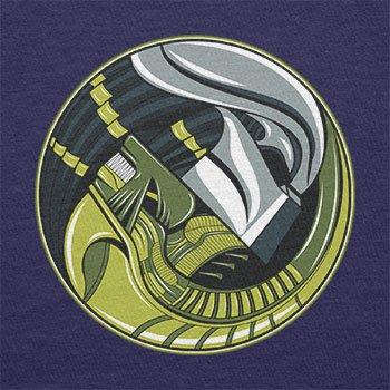 NERDO - Alyin Predyang - Herren Langarm T-Shirt Navy