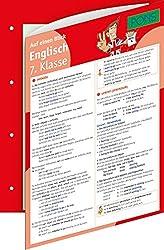 PONS Englisch auf einen Blick Kl. 7.