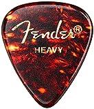 Fender 351 Celluloid Tortoise Shell Guitar Pick Heavy
