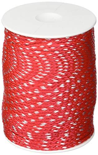 Overmann 008503000301000AA Maurerschnur 3 mm x 100 m aus Polypropylen, Rot