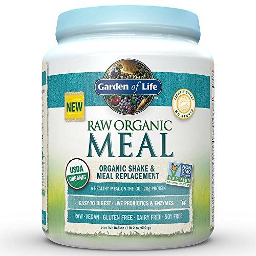 Garden of Life - comida CRUDA orgánica Shake & comida recambio Original - 16 oz.