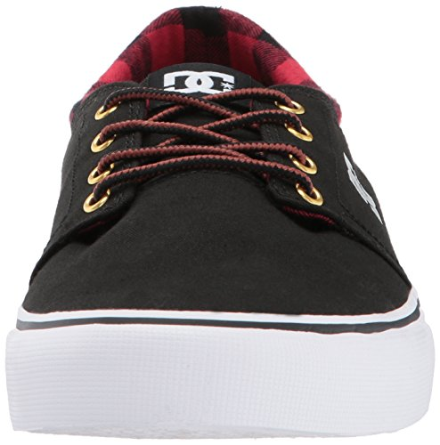 DC Trase TX SEDSD Herren Sneakers Black Buffalo Plaid