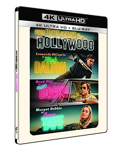 C'era una volta a... hollywood - steelbook 4k ultra hd  (2 blu ray)