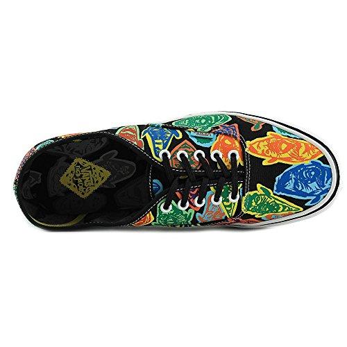 Vans U AUTHENTIC VQEV8ZI Unisex-Erwachsene Sneaker (rich jacobs) faces