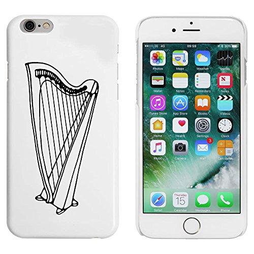 Azeeda Weiß 'Harfen Instrument' Hülle für iPhone 6 u. 6s (MC00094291)