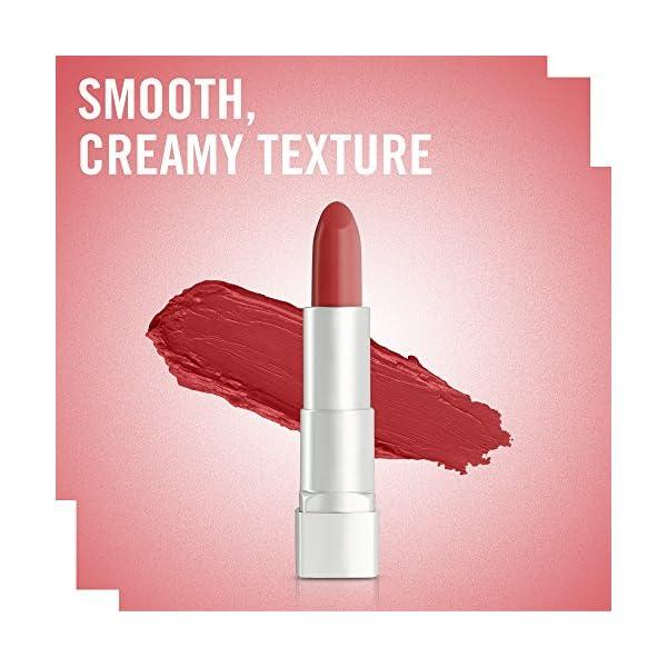 Rimmel London Moisture Renew Sheer & Shine, Lipstick 500 Red Y Set Go, 20 mls