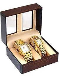 MICRON Gold Combo Analog Watch - For Men & Women