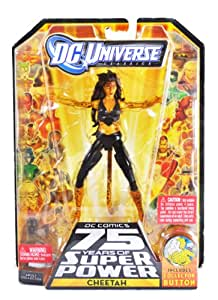 "DC Universe Classic 6"" Collectable Action Figure - CHEETAH - Black Costume Version"