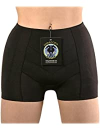 SODACODA Boyshort Foam Padded Hip Enhancers with Tummy Control Midrise Style (XS-XL)