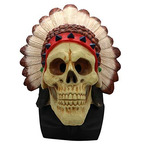 Morbuy Gruselig Halloween Maske, Neuheit Erwachsene Latex