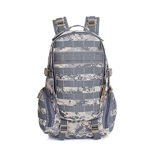 Imagen de hombres conecte bolsas de camping combinación impermeable  táctica militar bolsa de viaje asalto equitación camuflaje 3