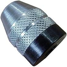 Minitool - Portabrocas sin llave para taladradora (6 mm), color plateado