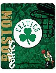 Boston Celtics 50x60 Fleece Blanket - Hard Knock Design