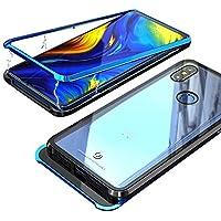 Funda Xiaomi Mi MIX 3, Jonwelsy Fuerte Tecnología de Adsorción Magnética Metal Bumper, Cubierta