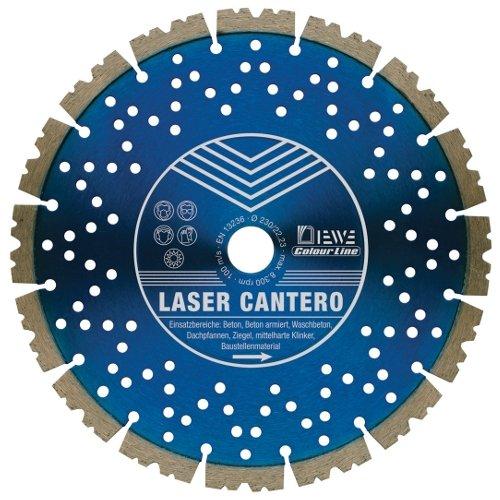 DISCO DE DIAMANTE DE CORTE DE DISCO LASER CANTERO 300 X 20