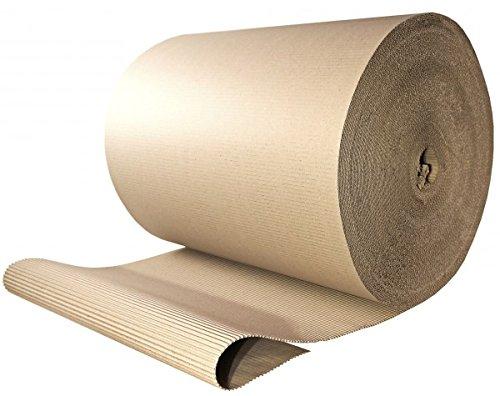 Preisvergleich Produktbild 1 Rolle Wellpappe  Rollenwellpappe 50cm 70lfm