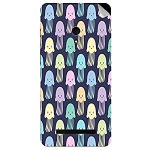 Theskinmantra Jelly Fish Asus Zenfone 5 mobile skin