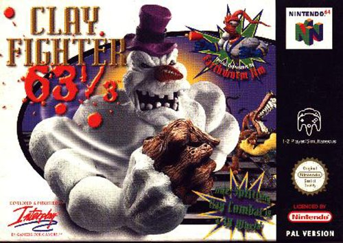 Clay fighter 63 - Nintendo 64 - PAL