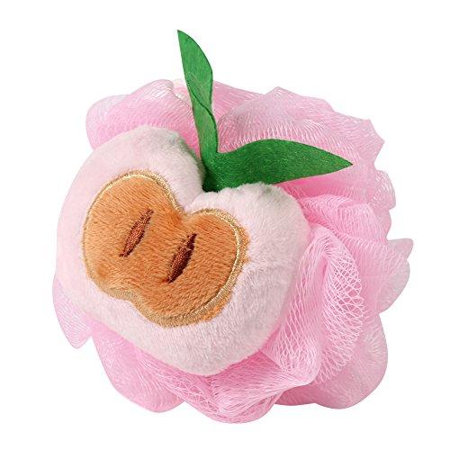 Videoleuchte Schwamm Bad Dusche Kugel Fruit Form Reiben Handtuch Belle Modellierung Bad Blumen...