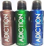 Adiction Addiction Deodorant (Combo of 3...
