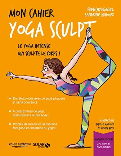 Mon cahier Yoga Sculpt NE cartes par  Sandrine BRIDOUX