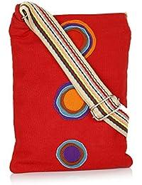 Anekaant Whimsical Canvas Sling Bag