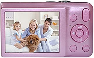 Stoga fotocamera digitale DC-V100 mini Macchina fotografica digitale compatta 5 x Zoom zoom digitale 8 x 2,7 pollici camera ottica TFT LCD HD digitale compatta - rosa