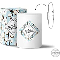 My Jolie candle Bougie-Bijou Fleur de coton - Bracelet