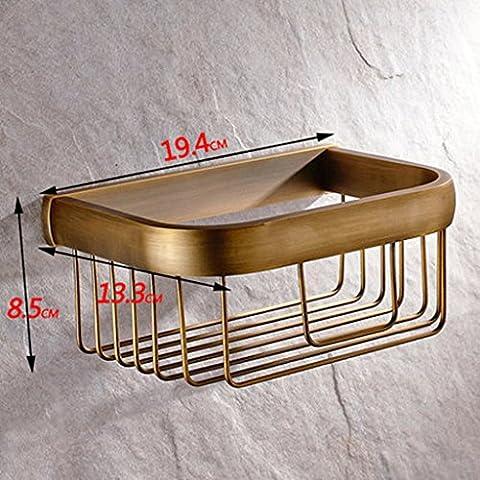 Tutto il rame igienica tovagliolo di carta igienica igienica rotolo carrello da cucina portasciugamani Grande Porta rotolo antico europeo di carta Basket