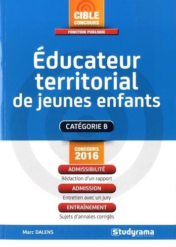 Educateur territorial de jeunes enfants