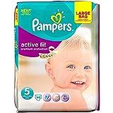 Pampers active Fit Taille 5 Junior 11-25kg (48) - Paquet de 6